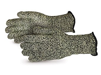 "Superior SKX-W4 CoolGrip Kevlar/Carbon Fiber Reinforced Heat and Flame Resistant Glove with 4"" Cuff, Work, Small (Pack of 1 Pair)"