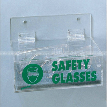 Acrylic Safety Glasses Dispenser With Lid Acrylic Glasses