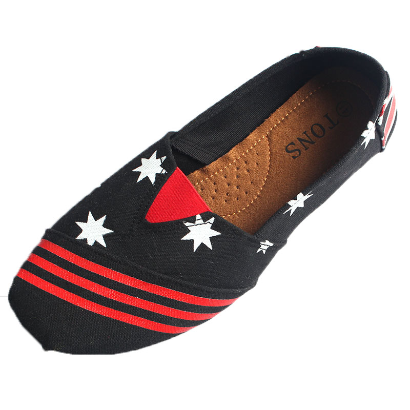 Men Slip on canvas shoes