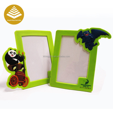 Design personalizado 2d/3d PVC borracha <span class=keywords><strong>de</strong></span> <span class=keywords><strong>silicone</strong></span> photo frame <span class=keywords><strong>de</strong></span> retrato por atacado