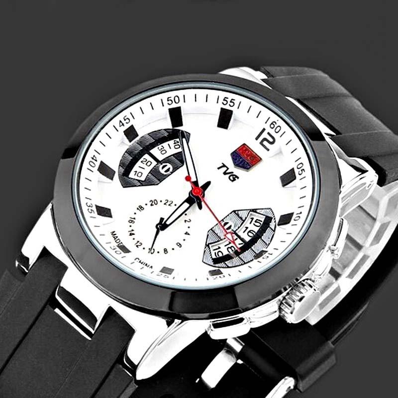 Reloj-Hombre-Luxury-Brand-TVG-Watches-Men-Silicone-Strap ...