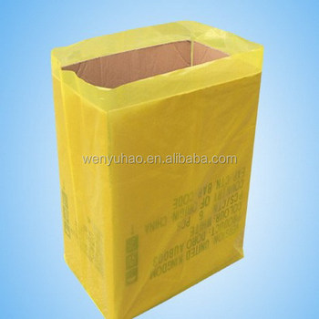Plastic Pallet Covers Gusseted Bags