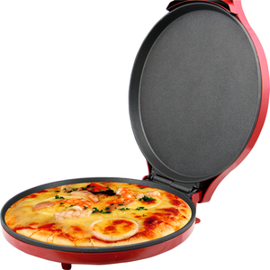 Electric pizza maker/waffle maker