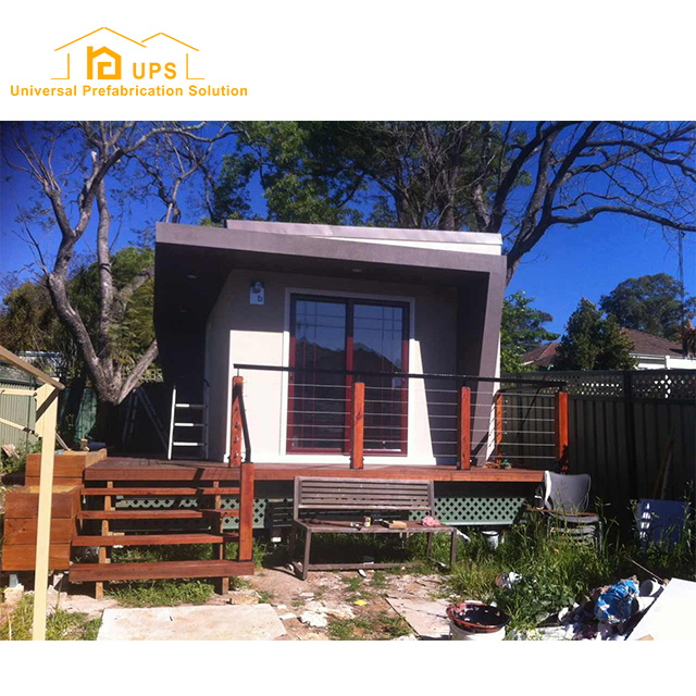Australia small high quality prefabricated log cabin and bungalow