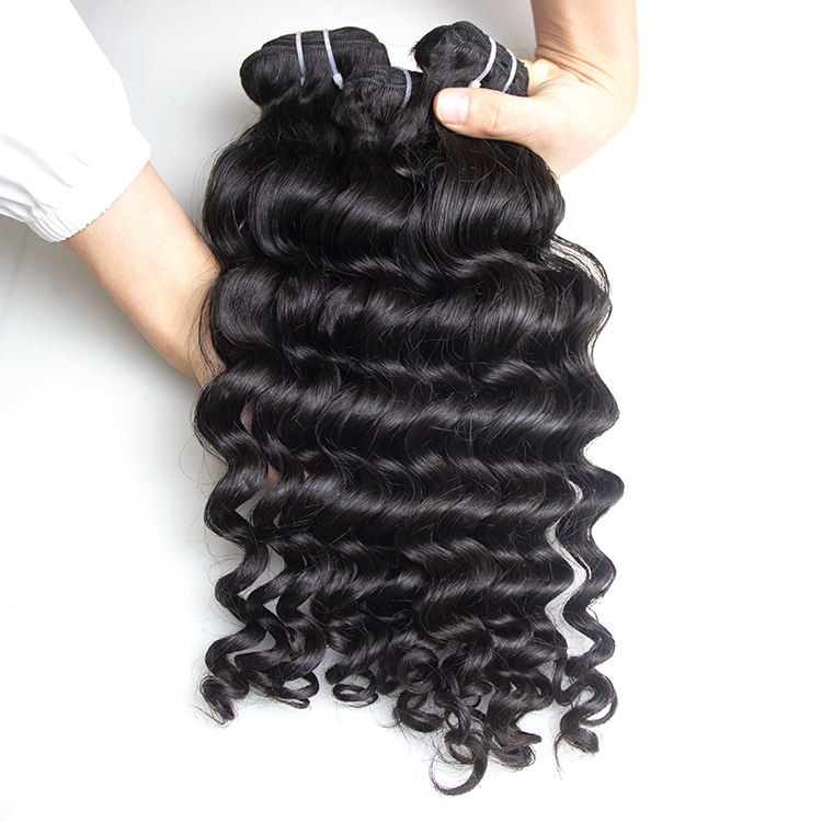 2019 Wholesale virgin hair vendors 100% natural girls indian unprocessed cuticle aligned temple curly human hair for black women, Natural color #1b-#2