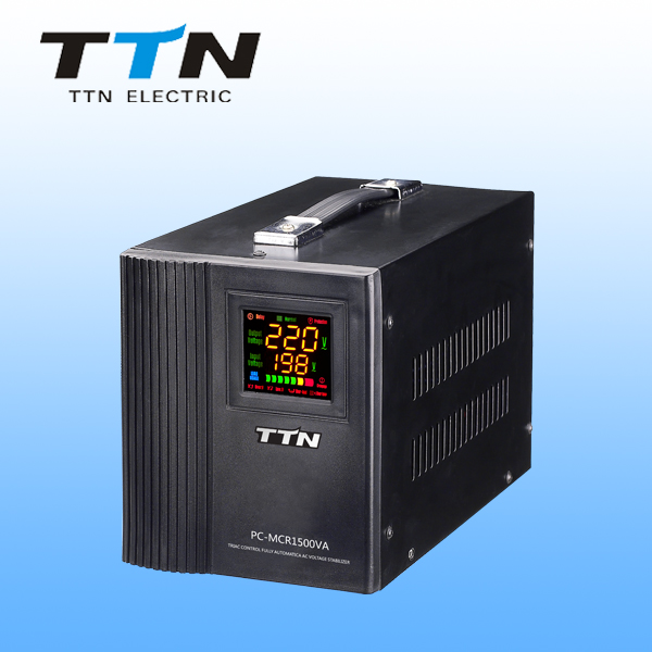 TTN PC-MCR SCR 1500va Voltage Regulator / Static Stabilizer