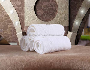Light and handy 32*32cm pure cotton satin board hotel face/hand towel