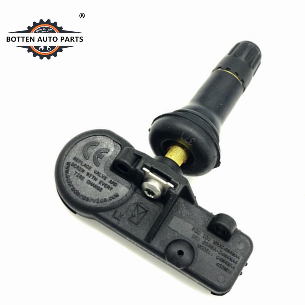 4 MAX 433mhz TPMS Tire Pressure Sensors for RAM 1500 2500 68157568AB 68249197AA