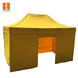 TJ Dye Sublimation Printed Pop up Canopies/ Yard BBQ Top Roof Tent Waterproof with Carry Bag