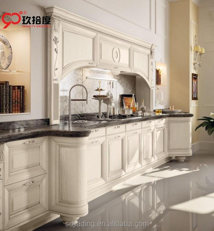 Cocina Americana de madera maciza cocina modular diseño-Cocinas ...