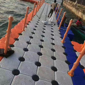Marine plastic boat Floating Dock floating pontoon