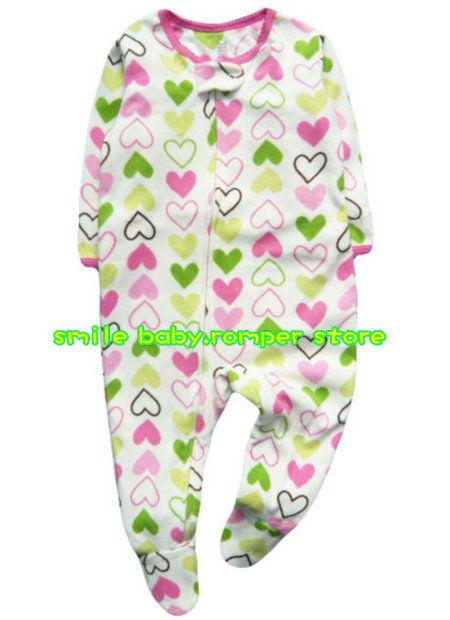 084eb6d1b8a5 Buy Carter  39 s Baby-girls  39  1 Pc Fleece Footed Blanket Sleeper ...