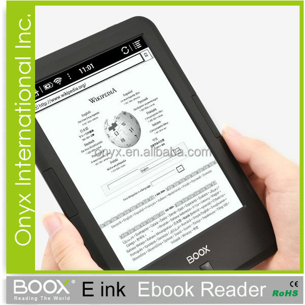 Launch New Product Android 4.2.2 C67 Eink Ebook Reader Support Multi Format