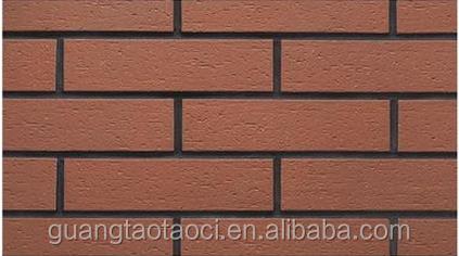 Elegant Außen Design Für Villa, Gebäude Außenwand Ziegel, Farbe Mischen Kultur  Wandfliese