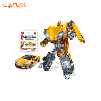 Hot Product Children Car Transformable In Stock Transforming Robot