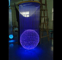 Round Ball Chandelier For Villa,Hotel Lobby Decoration Led ...