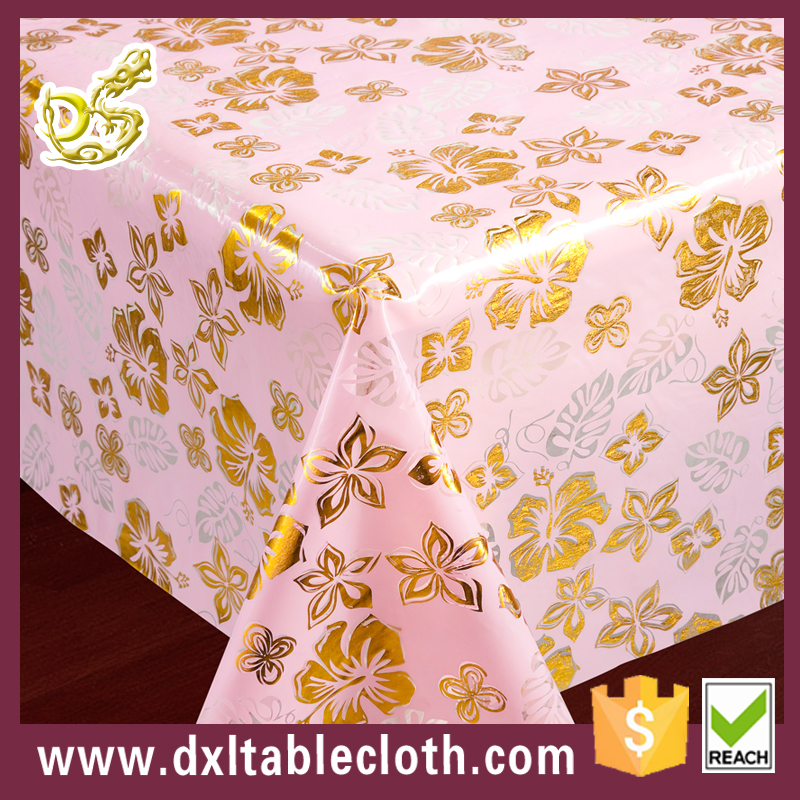 Printed or Clear PVC Table Cloth Roll