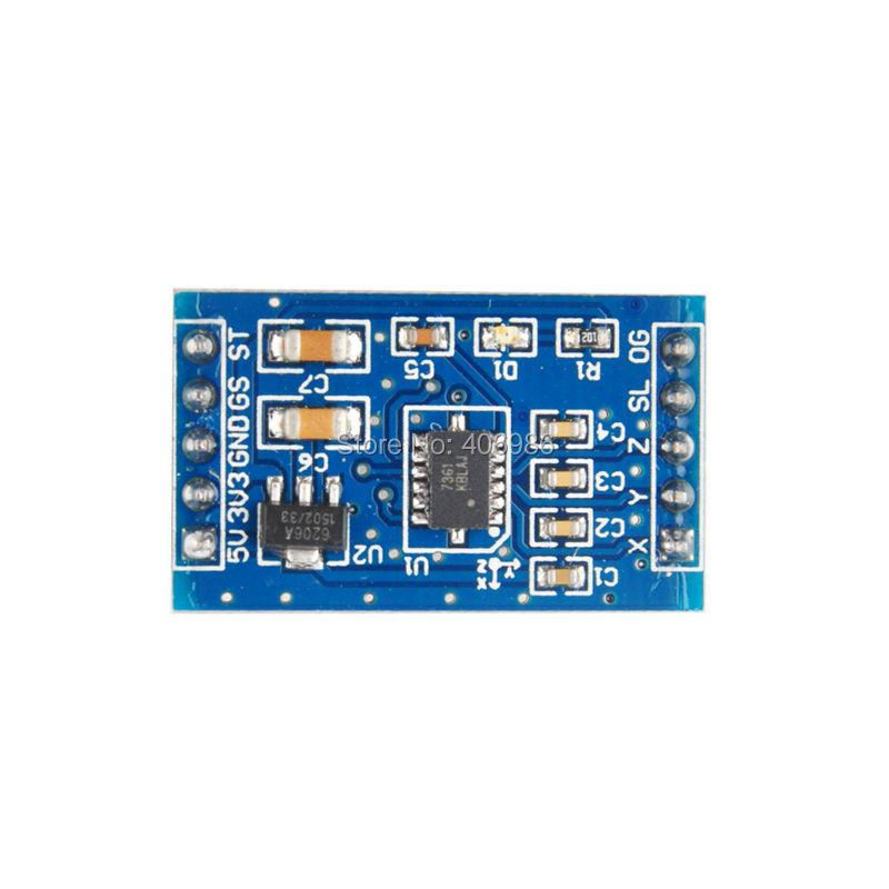 5pcs/lot MMA7361 MMA7260 Accelerometer Sensor Speed Module