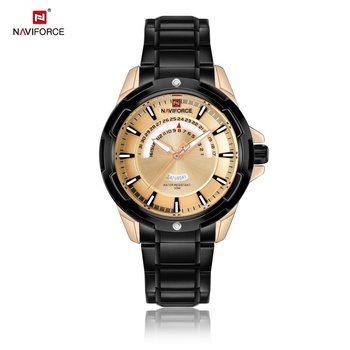 9121 relogio japan movt quartz watch stainless steel back Naviforce Watch,official store online quartz brand watches
