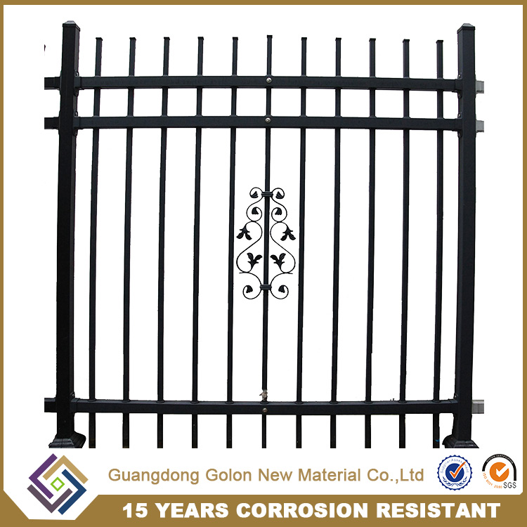 China Manufacturer Perimeter Fencing Perimeter Aluminum Picket Fence for animal