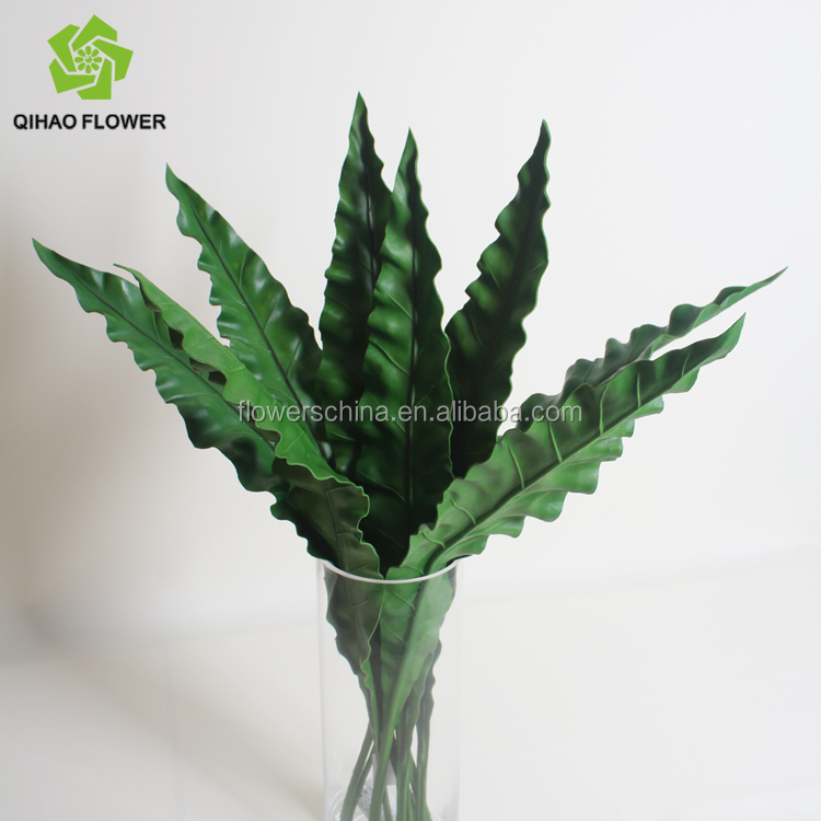 PU material high quality real touch leaf for flower arrangement