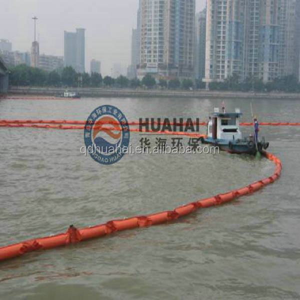 Solid Float Pvc Oil Spill Boom