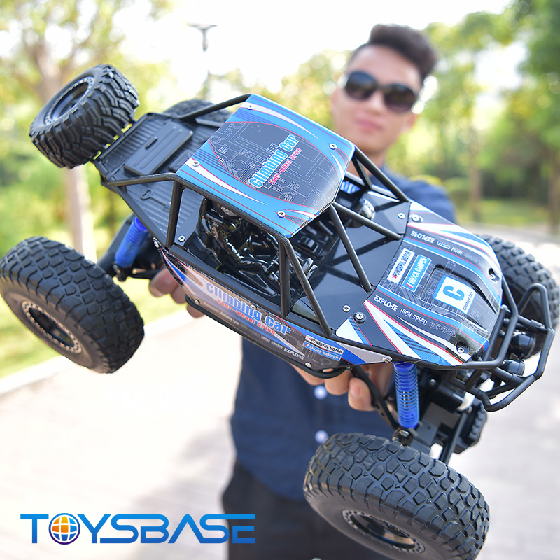 New Style 4 Channel Remote Control Toy 1/10 RC Rock Climbing Car