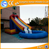 Hot sale home pool slide/ large inflatable pool slide/ pool water slide inflatable for sale