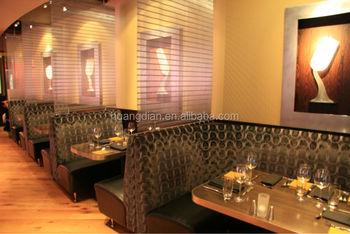 Moderne Restaurant En Bar Meubels Eetkamer Booth Zitplaatsen Tafels ...