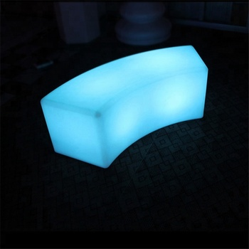 LED outdoor chair with cushion