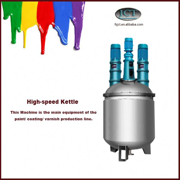 paint chemical formula production machinery