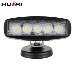 15W Led Work Lamp Ip68 Ce Rohs E-mark 12v led stand tractor work light White/Black Housing Mini Bar 15W Led Car Work Lights