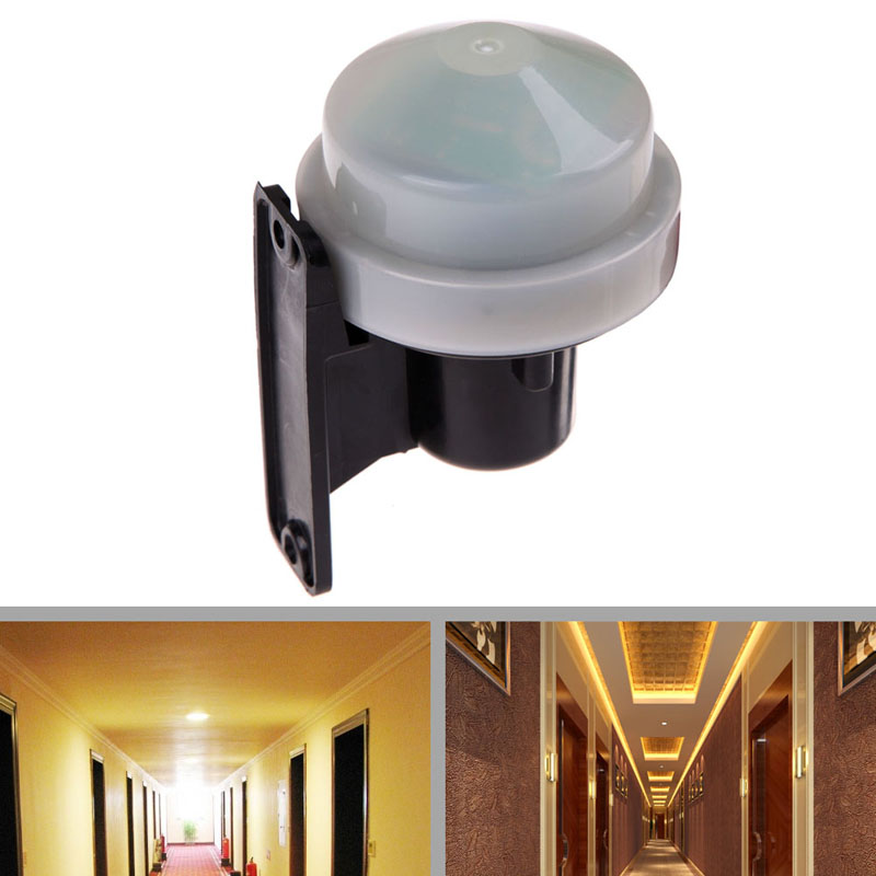 Photo Out Door Dusk: Free Shipping 230 240V 1.2W Outdoor Photocell Light Switch