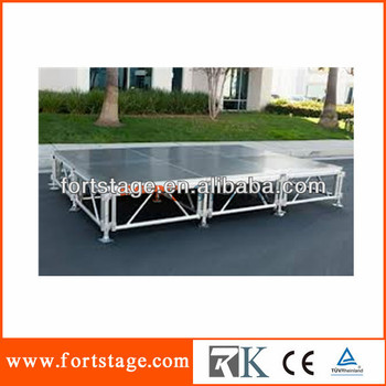 Made In China Aluminum Adjustable Portable Stage Platform