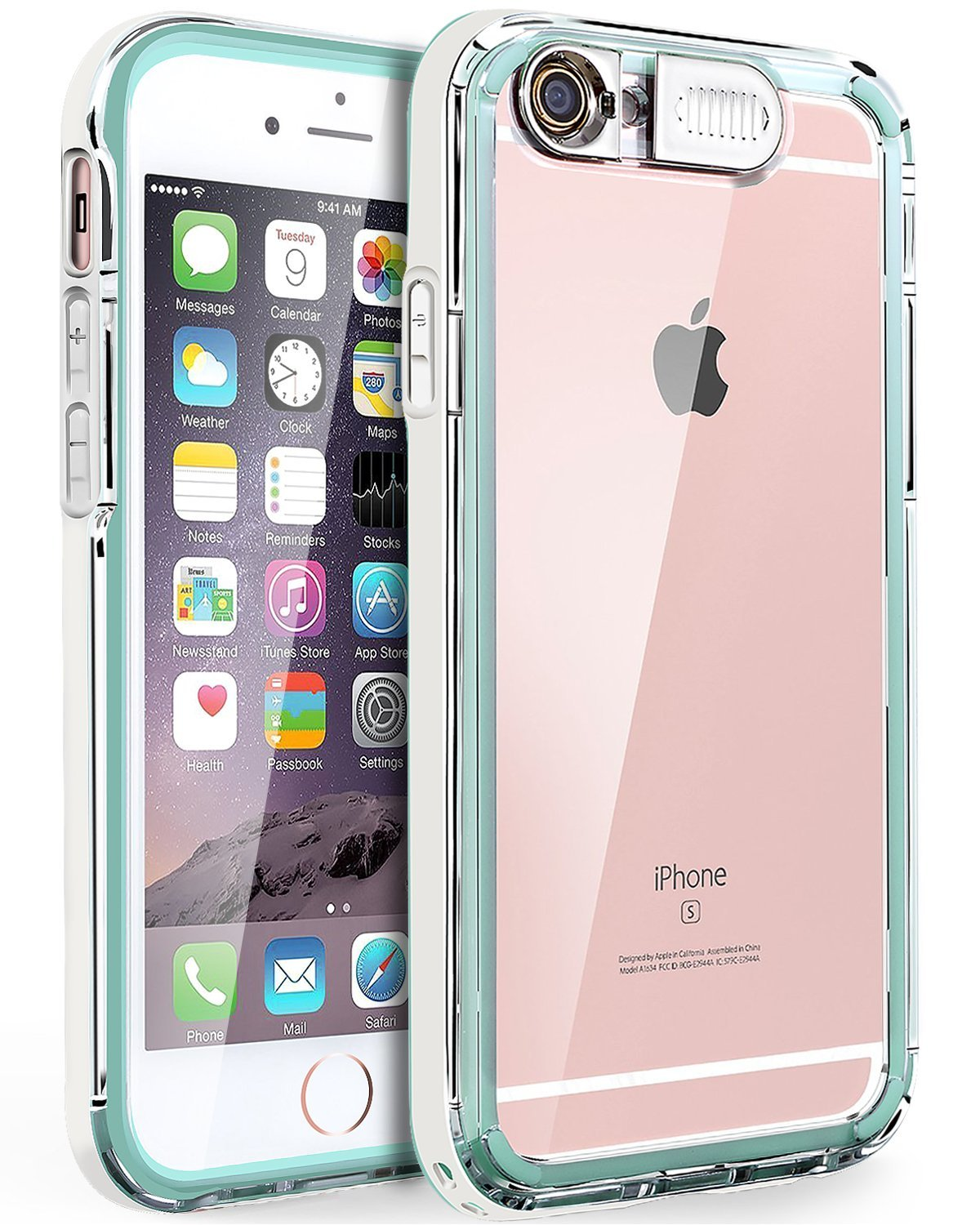 Cheap Mint Green Bumper Iphone 4 Find 6s Get Quotations Case 6 Bentoben Incoming Call Led Flash Luminous