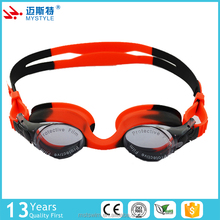 The most popular oem design 100% silicone junior swimming goggle