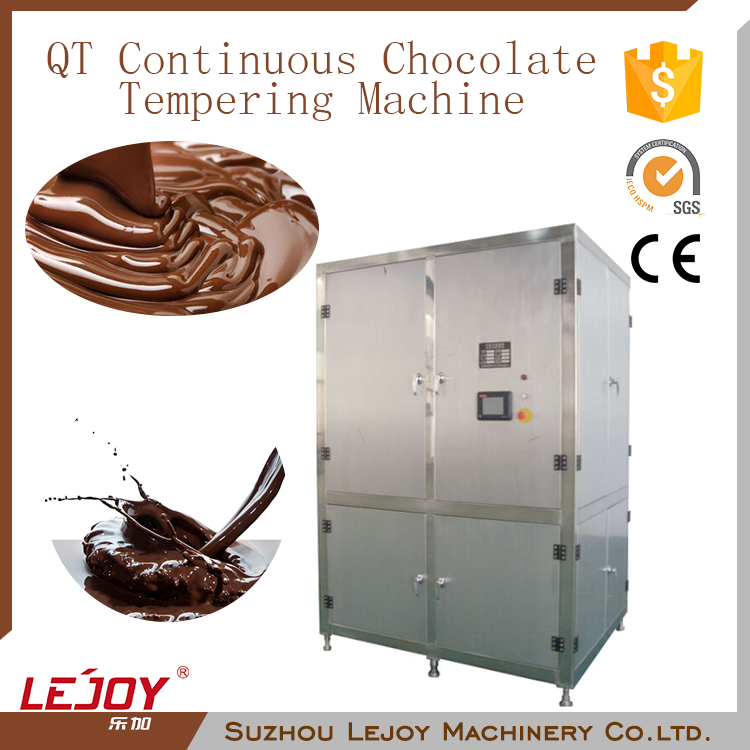 QT Automatic Chocolate Tempering Machine for Sale