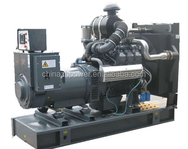100KW-2500kw brushless 3 phase diesel generator set CE approved
