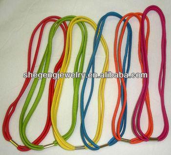 6 Braided Double 2 Strand Thin Headband Stretch Elastic Hair Band