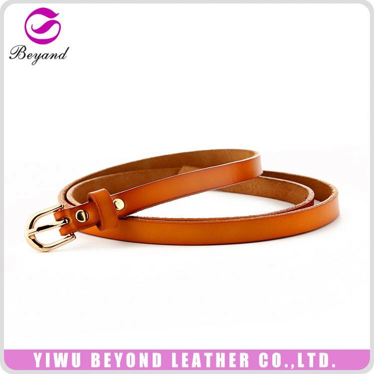 New product cowhide soft leather belts wholesale