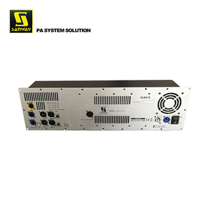 Sanway 1800Wx2+900W Digital audio dsp module with Ethernet
