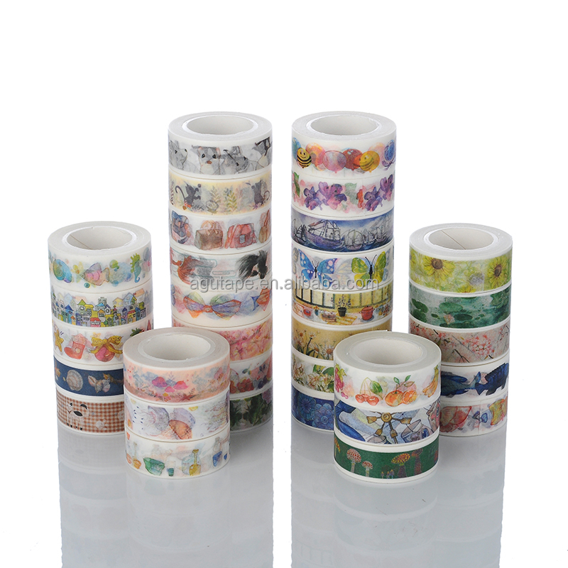 Wholesale colorful washy printed tapes - Alibaba.com