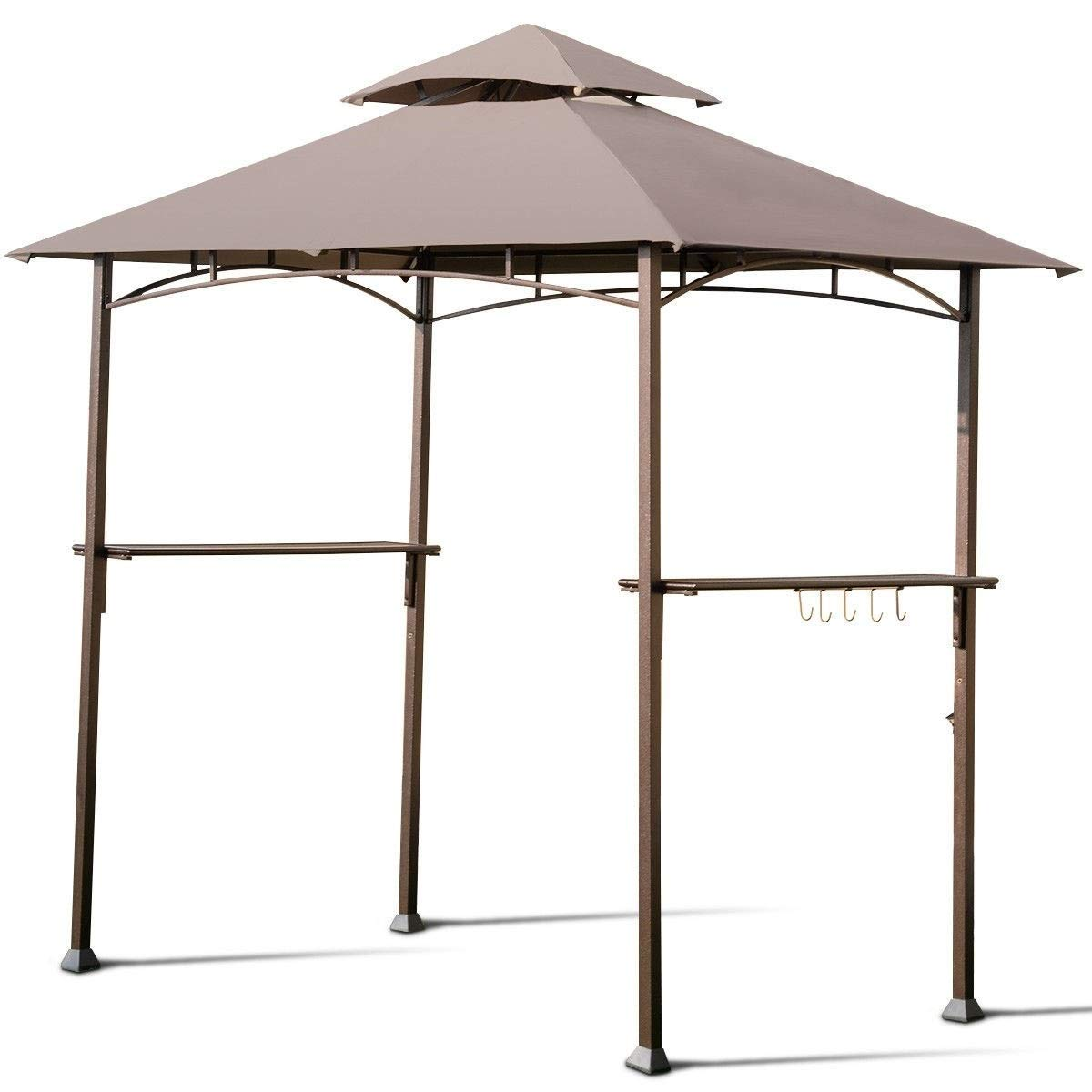 BESTChoiceForYou 8' x 5' Outdoor Barbecue Grill Gazebo Canopy Tent BBQ Shelter