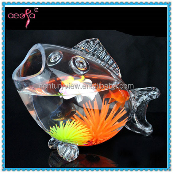 22 Quot Large Fish Shaped Glass Fish Bowls Wholesale Aquarium Tank Buy Wholesale Aquarium Tank