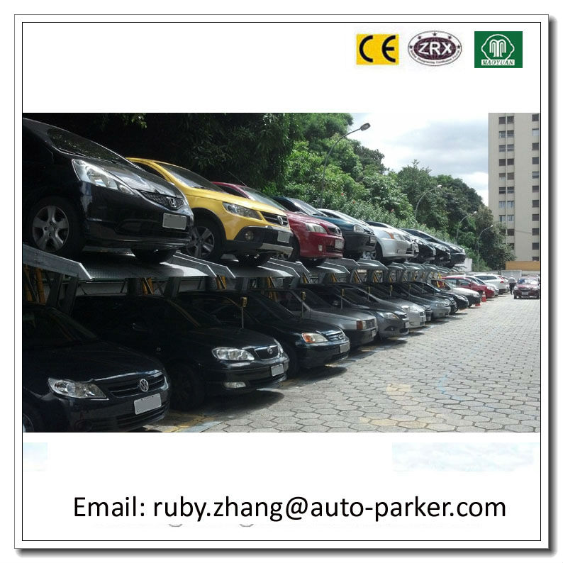 Parking Lot Design And Solutions Double Stackers Car Stack System Duplex