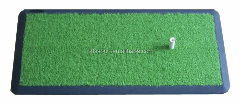Golf Swing Trainer with Practice hitting Mat