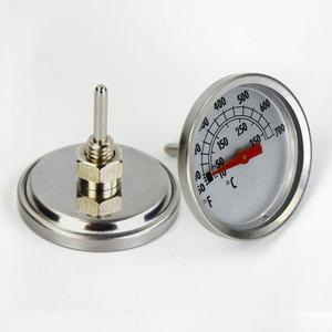 Stainless Steel Griller Thermometer / Grill Oven Thermometer