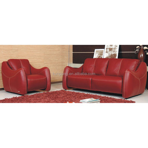 Bright Red Leather Sofa, Bright Red Leather Sofa Suppliers and ...