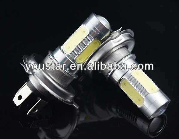 INTEGRATED h4 led car bulbs car h7 led headlight bulbs car led bulb/lights led 12 volt -24 volt truck led fog lamp 7.5w h4