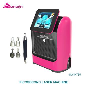 New Tech Skin Treatment Portable Yag Laser Tattoo Removal